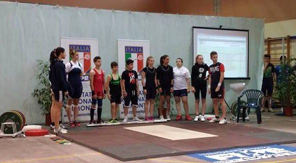 Oggi la COPPA ITALIA PESI con gli 8 atleti della PESISTICA BIOGLIO
