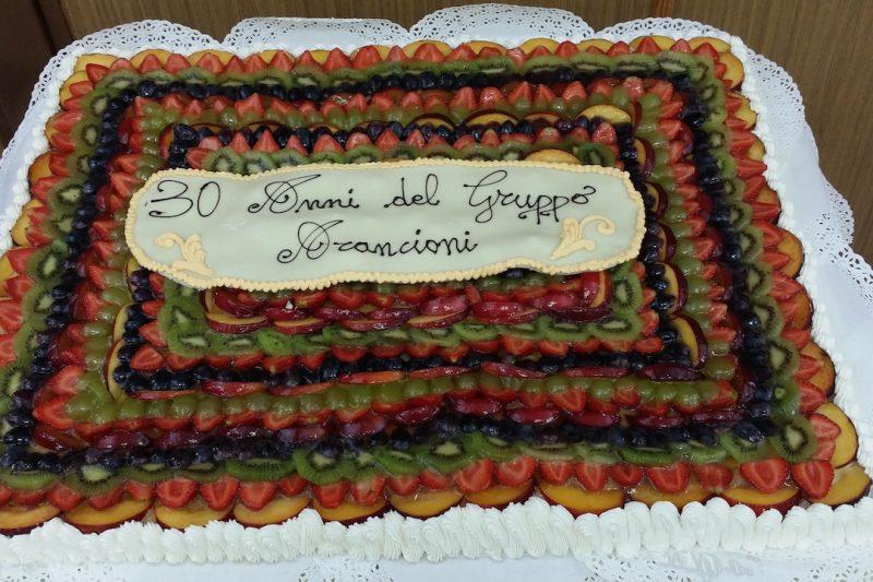 PRANZO DEGLI ARANCIONI, grande festa per i 30 ANNI