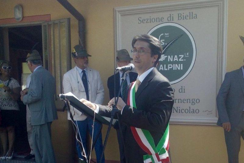 Il discorso del SINDACO per l'inaugurazione della SEDE DEGLI ALPINI